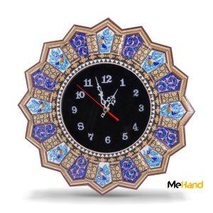 Qalamkari clock